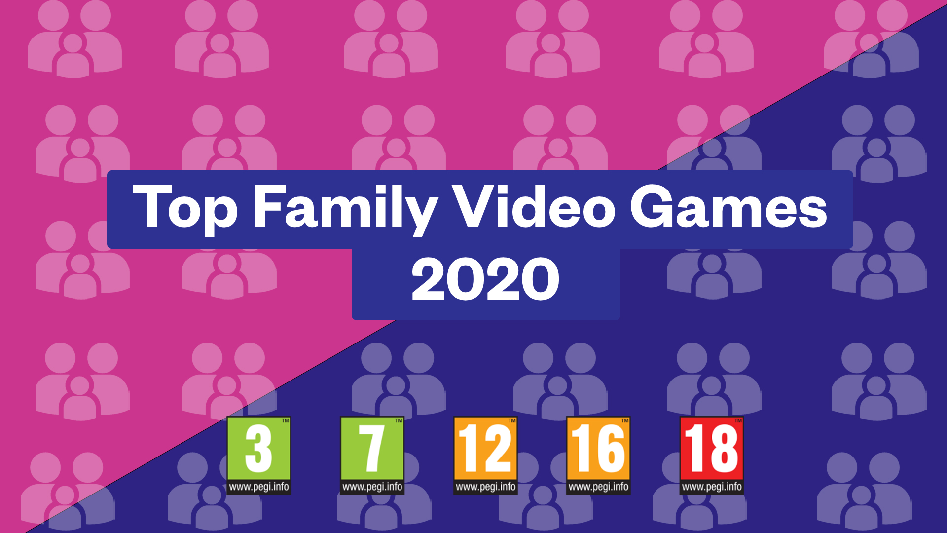 Featured Image for Top Family Video Games 2020