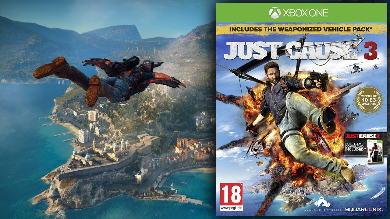 Featured Image for Parents' Guide to Just Cause 3