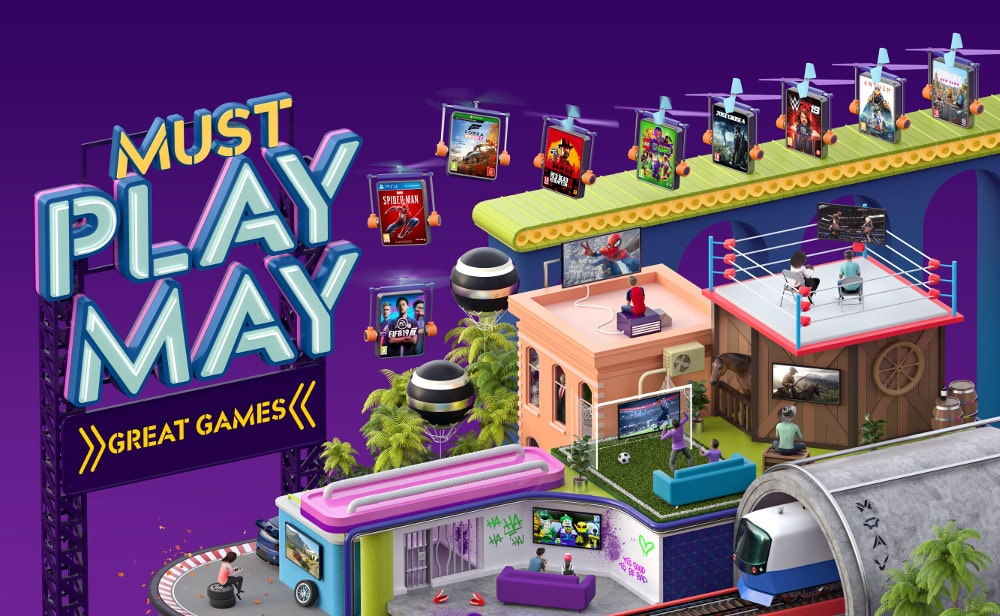 Featured Image for Getting Your Game-On For Must Play May